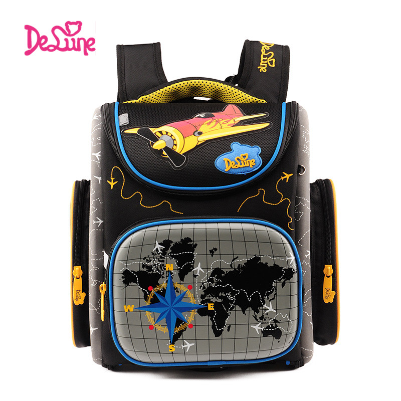 children School Bags Boys Orthopedic school Backpack kids Schoolbag Children cartoon school backpack Mochila Infantil Grade 1-5 2017 grade 1 3 5 princess girl new school backpack children cartoon cat kids backpack orthopedic school bag for boys