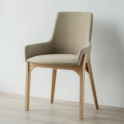 Nordic Freizeit Holz Stuhl Stuhl Stilvolle Schlichtheit Kleine Wohnung Ikea  Weißeiche Kaffee Stuhl Designer