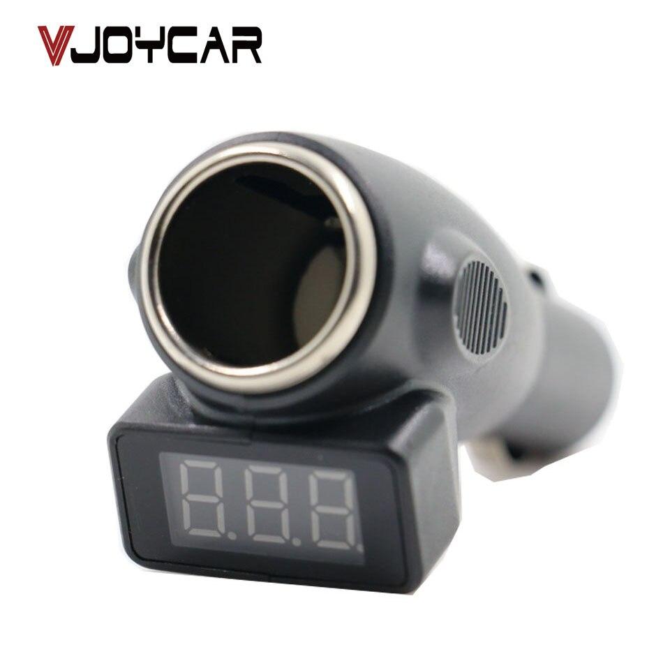 VJOYCAR Promotion Car font b Battery b font Checker Cigarette Lighter Port font b Battery b
