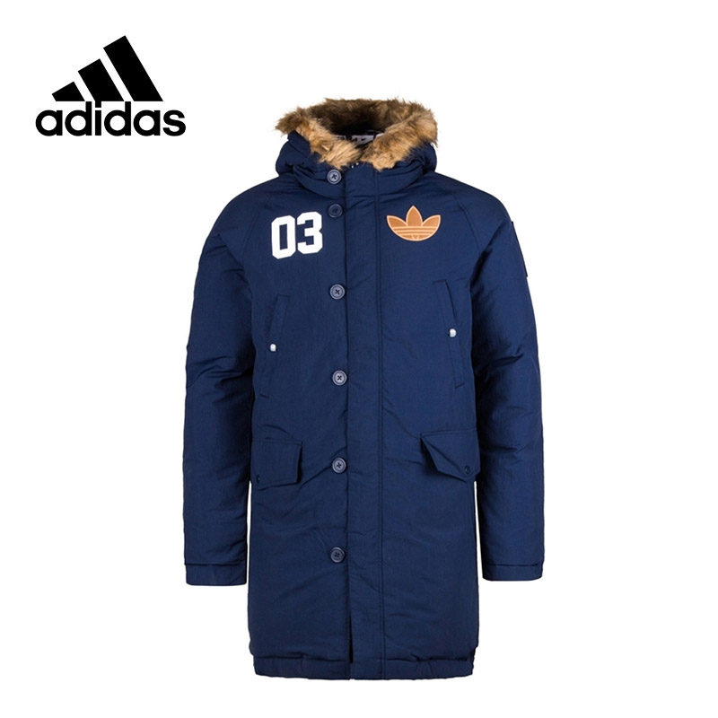 Adidas Original New Arrival Men Jacket Windproof Hooded Leisure Sportswear AC0506 AC0507 adidas new arrival official ess 3s crew men s jacket breathable pullover sportswear bq9645