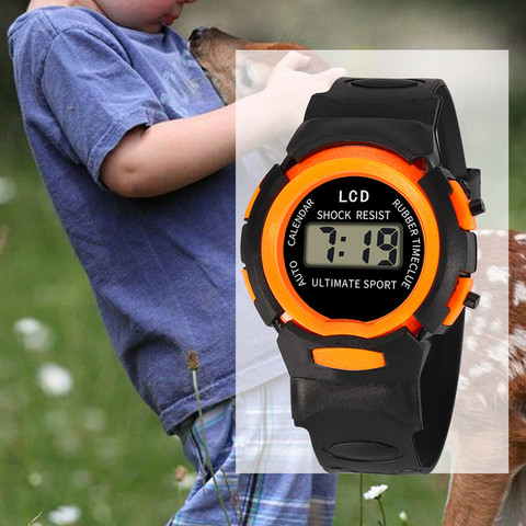 Sport Student Children Watch Kids Watches Boys Girls Clock Child LED Digital Wristwatch Electronic Wrist Watch for Boy Girl Gift Karachi