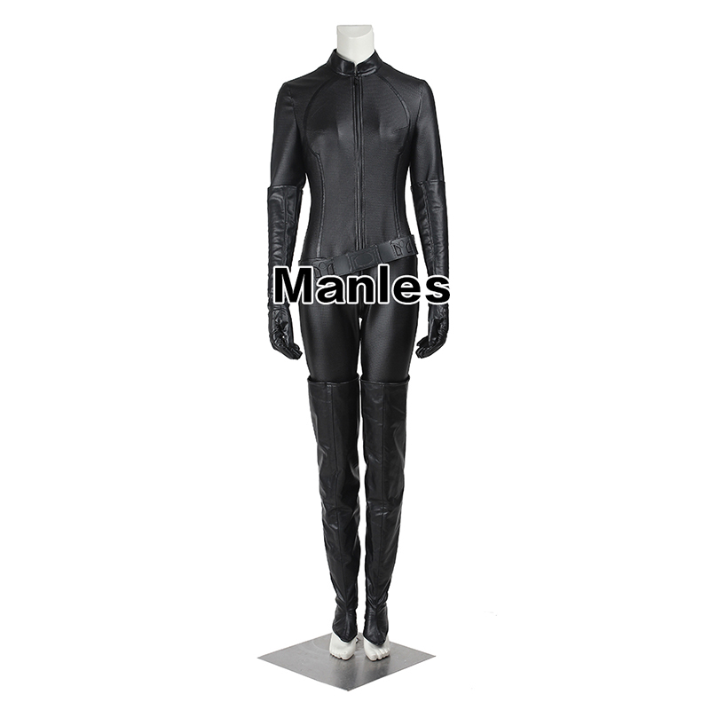 Catwoman Cosplay Costume The Dark Knight Rises Bodysuit Sexy Cosplay Batman Selina Kyle Halloween Fancy Costume For Women Adult-in Movie & TV costumes from Novelty & Special Use    2