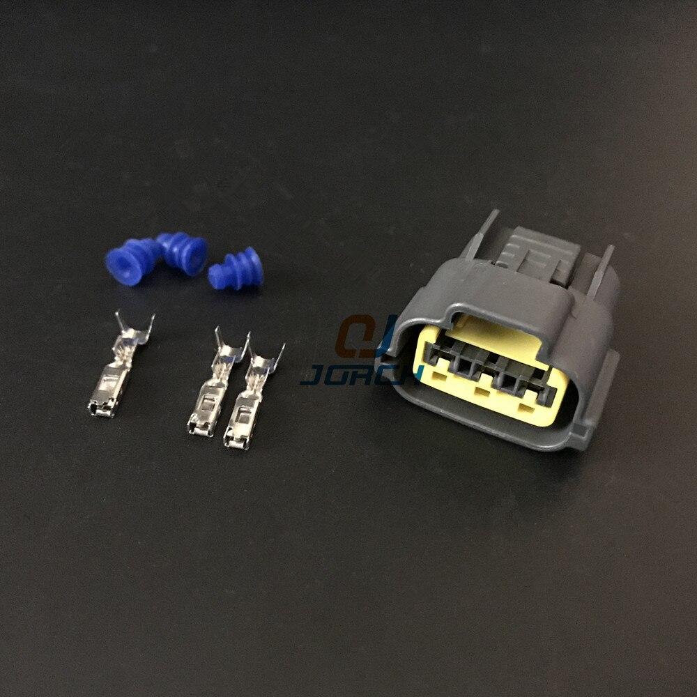 Livraison gratuite 5 jeux 3Pin Auto TPS connecteur capteur prise Sumitomo connecteurs 6098-0141 pour NissanLivraison gratuite 5 jeux 3Pin Auto TPS connecteur capteur prise Sumitomo connecteurs 6098-0141 pour Nissan