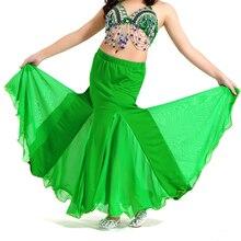 Belly Dance Costumes Girls Oriental Sexy Long Skirt Kids Indian Mermaid Skirts B
