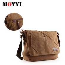 цены на Man Urban Daily Carry Bag High Quality Men Canvas Shoulder Bag Casual Travel Men's Crossbody Bag Male Messenger Bags  в интернет-магазинах