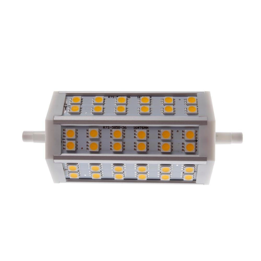 LED Light R7S Horizon Plug LED 5050 Light Warm White (3000-3500K) Lighting Decoration