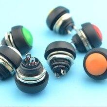 50 шт. 12 мм Круглый кнопочный переключатель Мгновенный Кнопочный рупорный переключатель