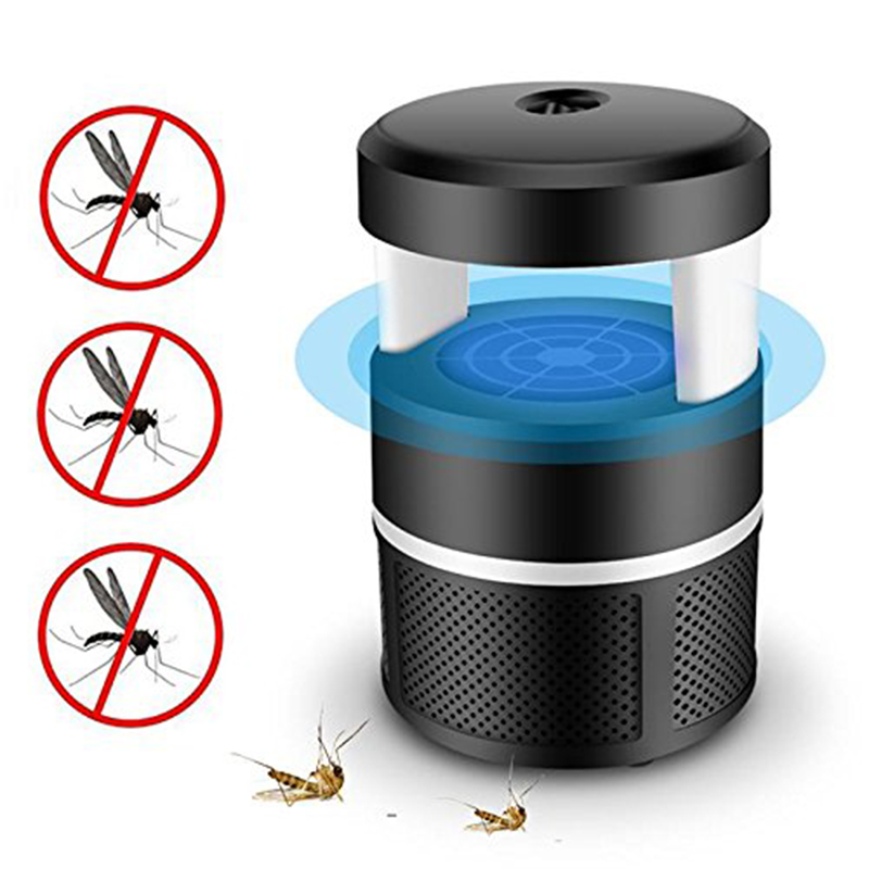 Electronic Mosquito Killer Lamp Bug Zapper Insect Trap USB Powered LED Mosquitoes Catcher For Indoor Outdoor Home Backyard Gar