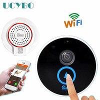 Wireless Wifi Mini Ip Camera 720P HD Video Door Phone Doorbell Doorphone IR Night Vision Audio