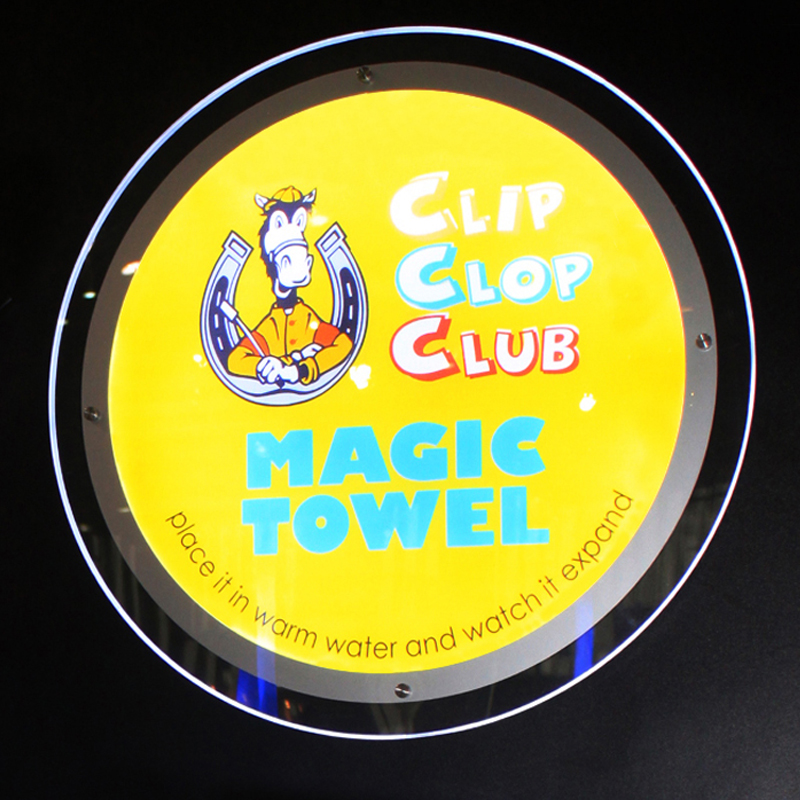 Round Shape Single Sided LED Light Pocket Displays, Wall Mounted Illuminated Displays (40x40cm) b101xt01 1 m101nwn8 lcd displays