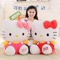 1 шт. типичном стиле Hello Kitty игрушки для детей Мягкие игрушки для детей Детские Игрушки Hello Kitty Плюшевые Лучший Подарок для Детей