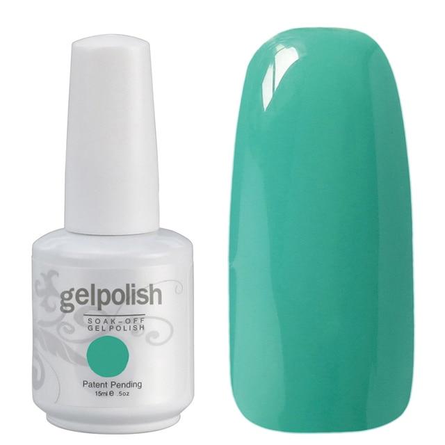 Eco Friendly 302 colores Gelpolish 1467 salón de uñas de Gel UV ...