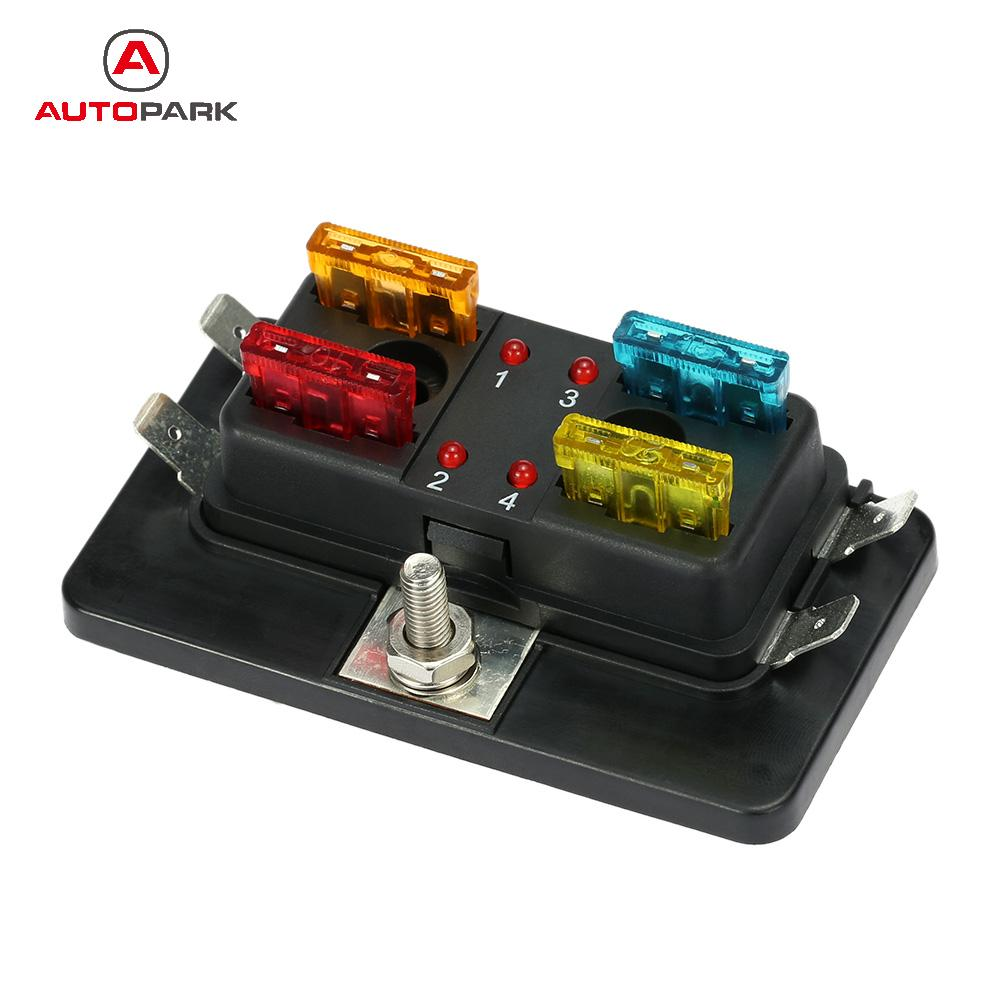 Surprising Medium Standard 10A 15A 20A Atc Ato Fuse Box Holder Socket Wiring 101 Tzicihahutechinfo