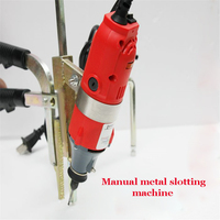 1PC Manual metal slotting machine Metal Letters Bender Bending Machine Tool metal strip Bender