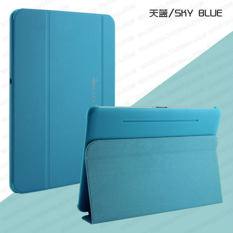 3 in 1 High Quality Stand Pu Leather Case Smart Cover For Samsung GALAXY Tab pro 10.1 T520 T521 T525 case + Stylus + Screen Film