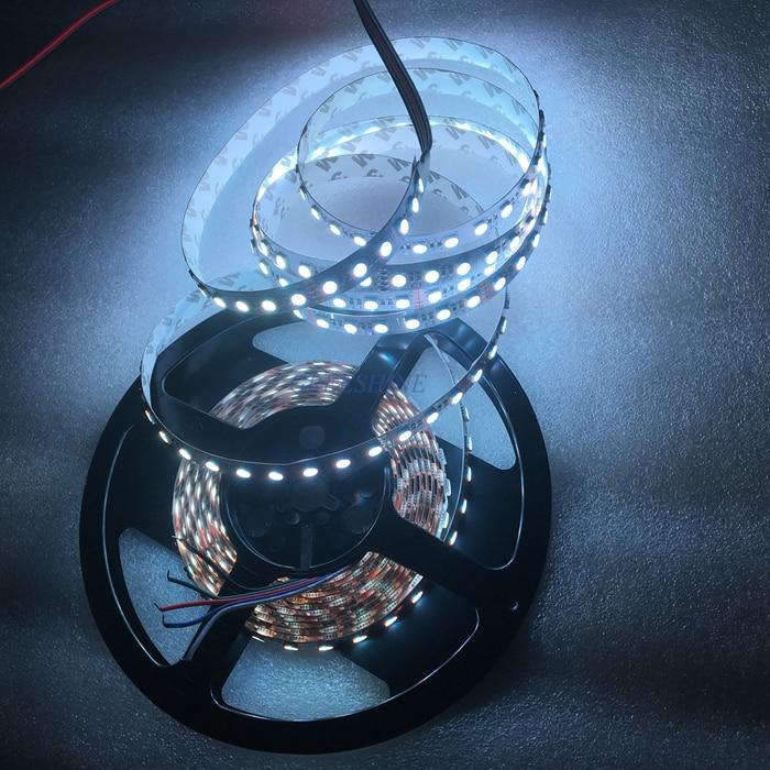 Yeni 84leds / M Suya davamlı 5050 4IN1 RGBW LED lent SMD RGBWW led - LED işıqlandırma - Fotoqrafiya 3