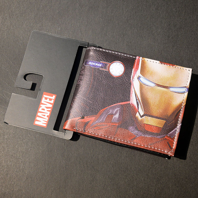 Marvel Comic Heroes Wallets