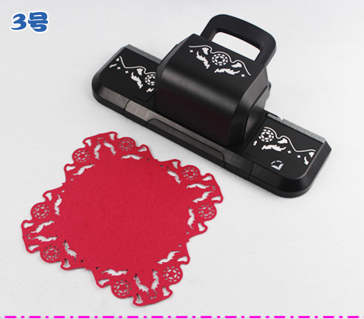 Free Shipping New Design Of 4 All Around No 3 Craft Punch Paper