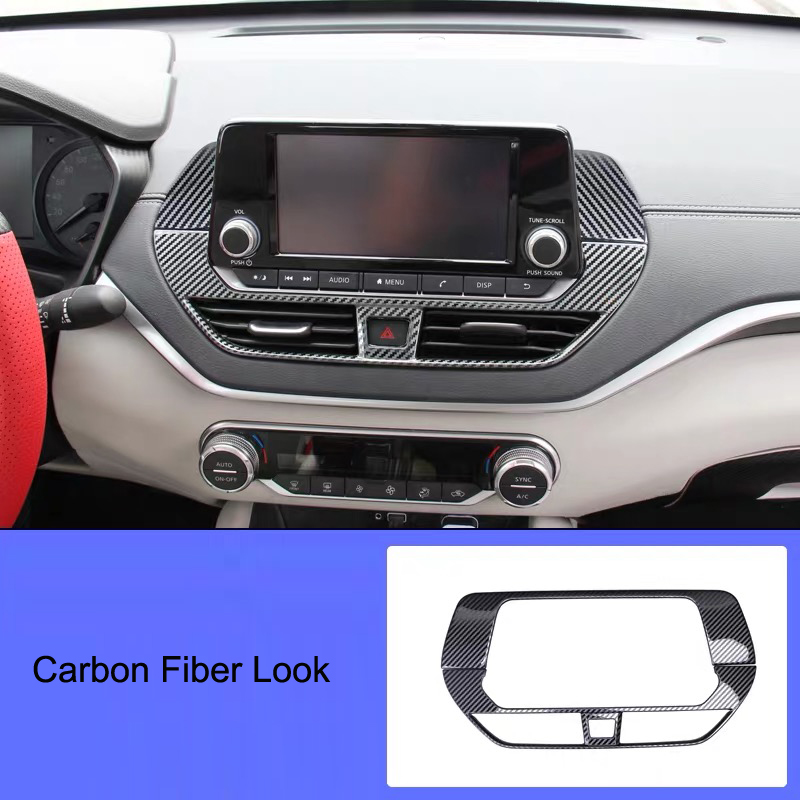 Blue Interior Side Air Vent Outlet Cover Trim For Nissan Teana Altima 2013-2018