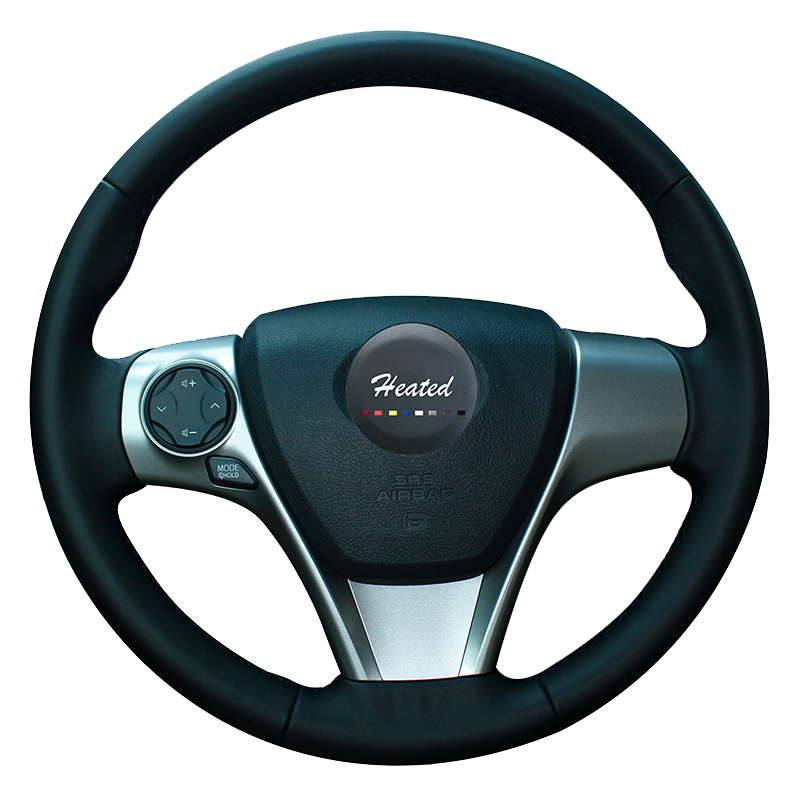 heated anti slip microfiber leather car steering wheel. Black Bedroom Furniture Sets. Home Design Ideas