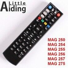 リモコンMAG250 MAG254 MAG255 mag 256 MAG257 MAG275テレビ学習機能、コントローラlinux tvボックス、iptvボックス。