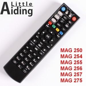 Image 1 - Pilot zdalnego sterowania dla MAG250 MAG254 MAG255 MAG 256 MAG257 MAG275 z telewizorem funkcję uczenia się, kontroler dla systemu Linux TV, pudełko, IPTV Box Tv, pudełko.