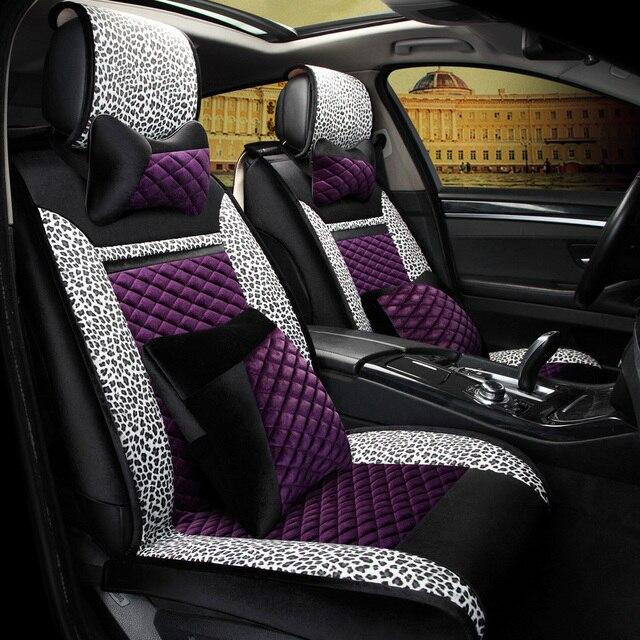 3D Carro Esporte Carro Tecido Tampa de Assento Almofada Geral Verde-Cobre, o Estilo Do Carro Para Cadillac CTS XTS ATS SLS SRX Escalade