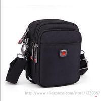 Men Messenger Bags Black Oxford Material High Quality Size Mini Small Medium Big Large A0100