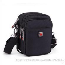 Hommes sacs messenger noir oxford matériaux de haute qualité épaule sac entrepôt nylon sac à outils mini grand 4 tailles a0100