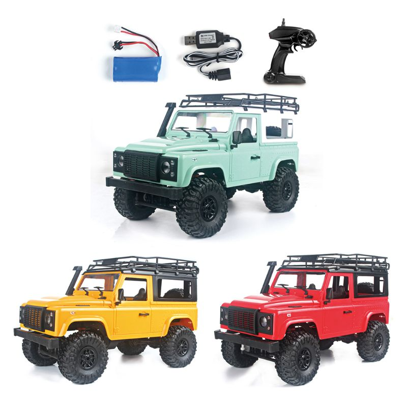 1 12 RC Rock Crawler D90 2 4G 4WD Car Remote Control Truck Toys Defender Vehicles