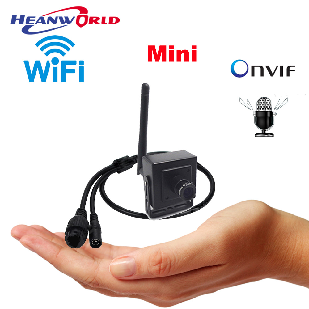 CCTV IP Mini Camera Wifi Micphone HD 1080P 960P 720P smallest wireless surveillance webcam SD slot
