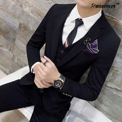 Modern legújabb kabát nadrág tervez Classic klasszikus színek - Férfi ruházat - Fénykép 5