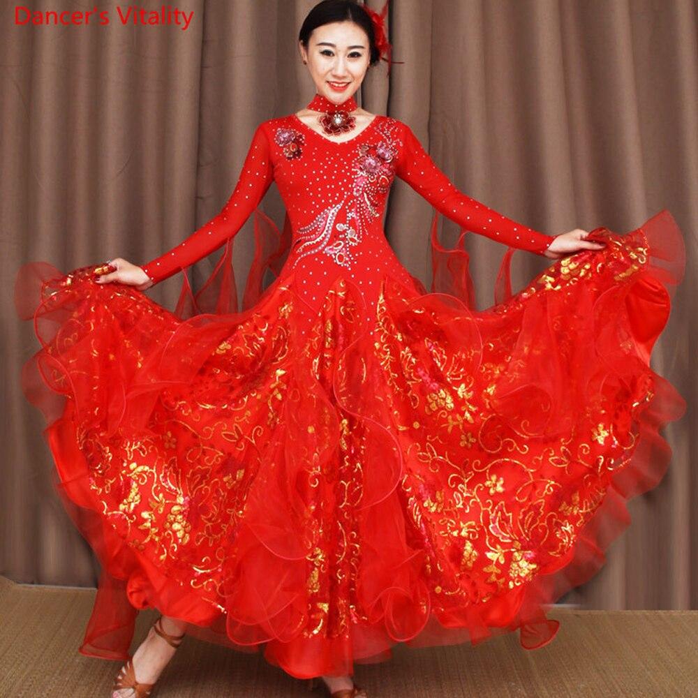 Aliexpress.com : Buy Custom Made Ballroom Dance Dress ...