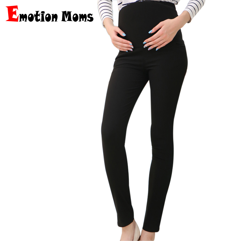 Emotion Moms High Quality Skinny maternity clothes Maternity trousers Pregnancy Pants For Pregnant Women Plus Size trousers summer women stretch slim pencil pants full length sexy ripped hole skinny high waist trousers plus size pantalon femme