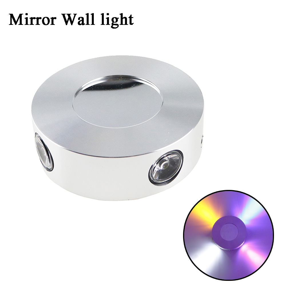 4W Sconce Wall Lights Lamps Sconce Aluminum Golbe 98MM Diameter KTV Bar Wall mounted Corridor Stair arandelas para parede HL