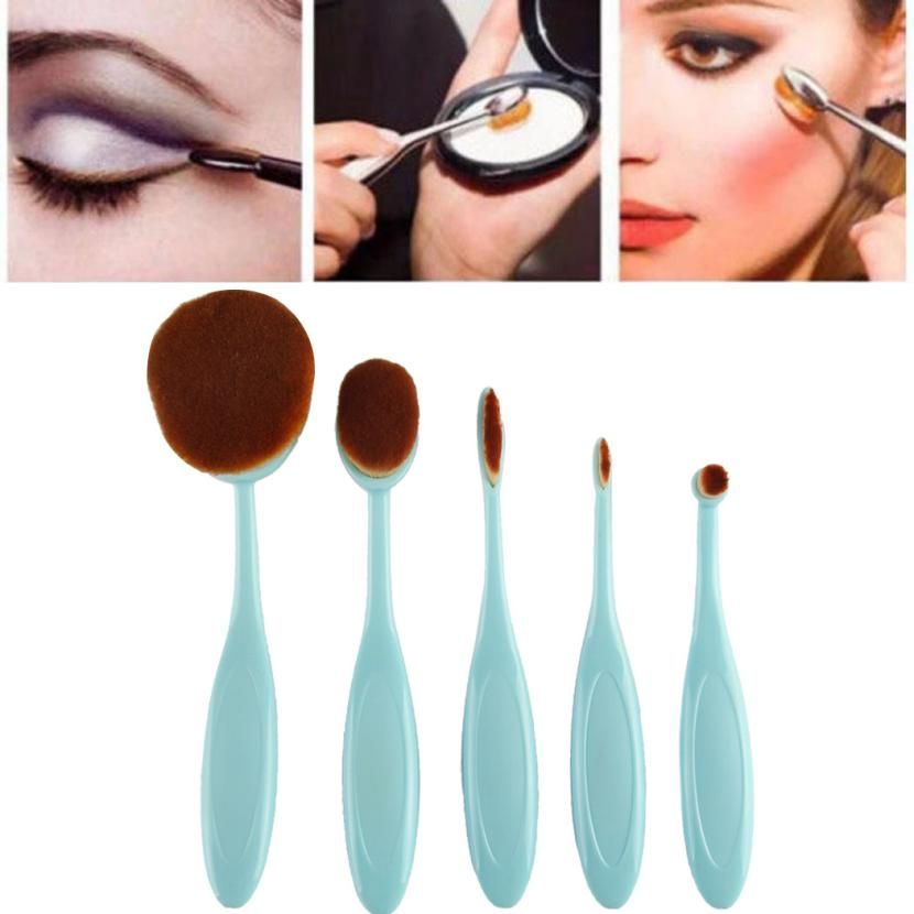 MAANGE New and high quality 5PC/Set Toothbrush Style Eyebrow Brush Foundation Eyeliner Makeup Brushes Anne 3d flooring waterproof wall paper custom 3d flooring wooden bridge water self adhesive wallpaper vinyl flooring bathroom