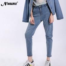73cbb37b837d7 L 5XL plus size boyfriend jeans for women denim harem pants loose autumn  summer casual patchwork