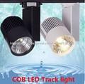 30 Вт 40WCOB светодиодные рельсовые фары  прожекторы  полоса  равная галогенная лампа 110 В 220 В  рельсовая лампа