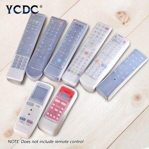 For Haier Gree Samsung Skyworth LG TV Air Condition Remote Control Cover Case Samsung BN59-01026A Hisense CN-31658 K906 KK-Y345(China)