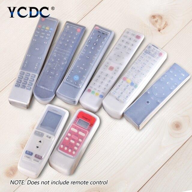 For Haier Gree Samsung Skyworth LG TV Air Condition Remote Control Cover Case Samsung BN59-01026A Hisense CN-31658 K906 KK-Y345
