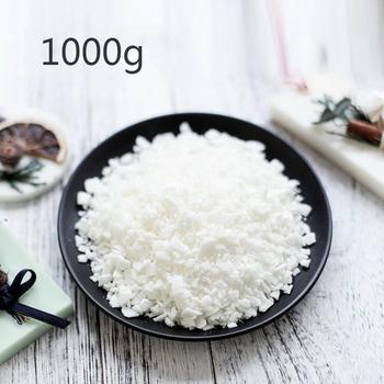 1000 g paczka Vela surowce stada Soja wosk dla niepalących żagiel Diy naturalne do odlewania świec obecne dostawy rzemiosła tanie i dobre opinie 52Degree 1000g Soy Wax