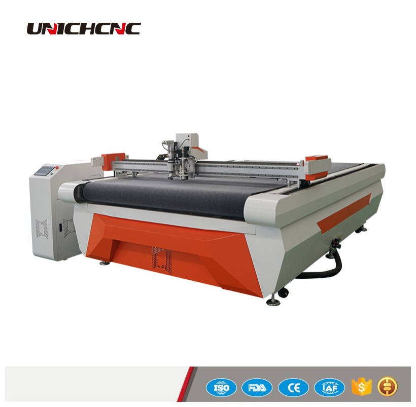 High Performance Leather Gloves Cutting Machine