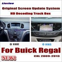 Liorlee For Buick Regal CXL 2009-2013 Original Car Screen Update Decoder Parking Rear view Camera Carplay Interface Adapter Plug кошелек cxl