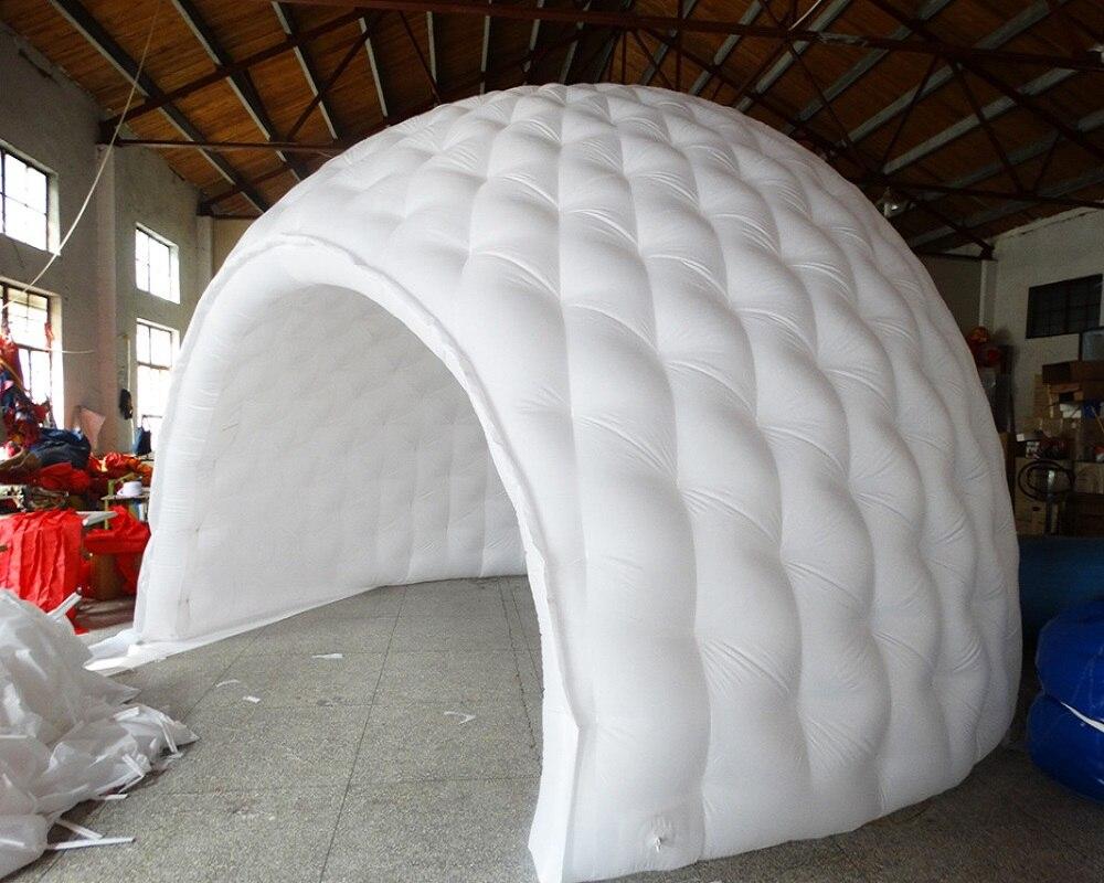 barraca branca personalizada barraca de oxford inflavel abobada china 01