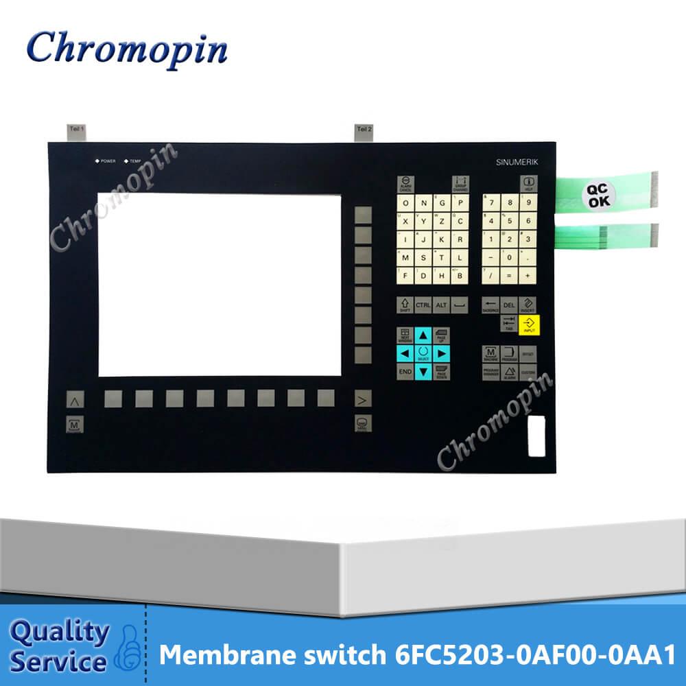 Membrane switch for 6FC5203-0AF00-0AA1 6FC5 203-0AF00-0AA1 6FC5203-0AF00-0AA0 6FC5 203-0AF00-0AA0 SINUMERIK OP010