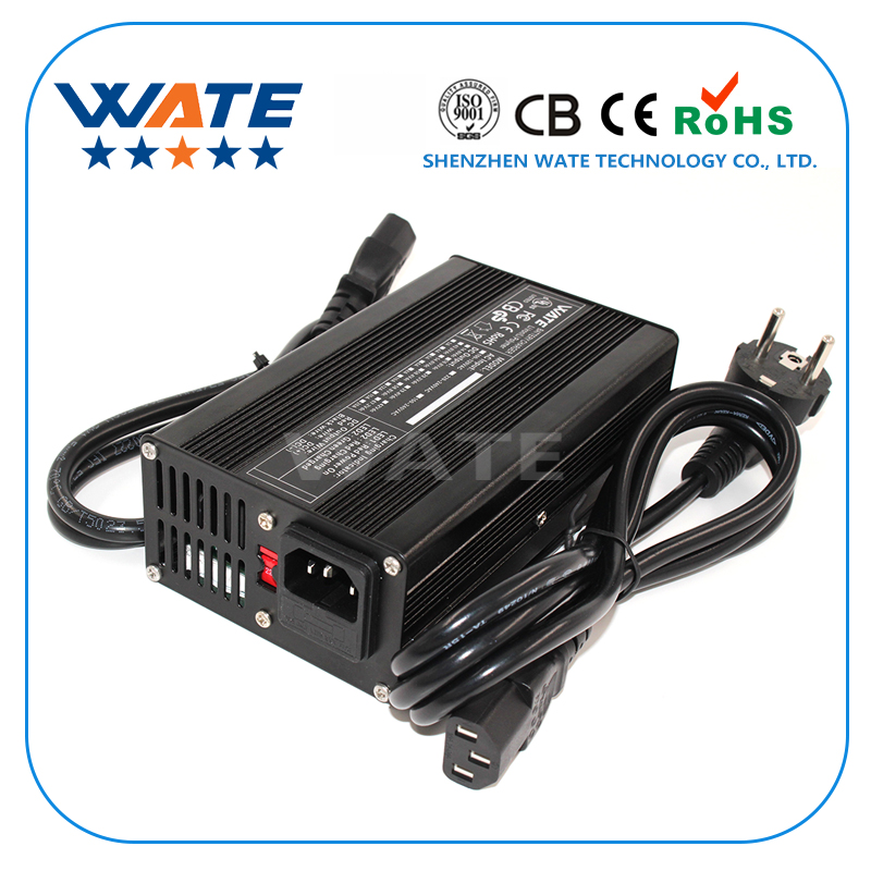 54.6V 3A Charger 13S 48V E-Bike Li-ion Battery Smart Charger Lipo/LiMn2O4/LiCoO2 battery Charger Global Certification
