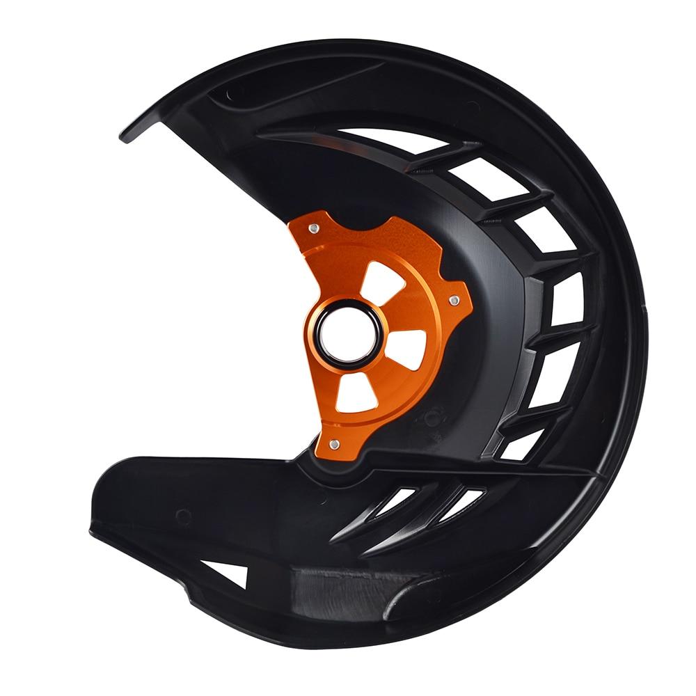 NICECNC Front Brake Disc Protector Gaurd For Husqvarna TE FE 125 250 300 350 449 450 480 501 2014 2015 For KTM EXC SXF SX XCF