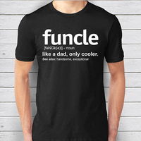 EnjoytheSpirit Mens Funcle Definition T Shirt Funny Gift For Uncle Proud A Uncle Tees Like A
