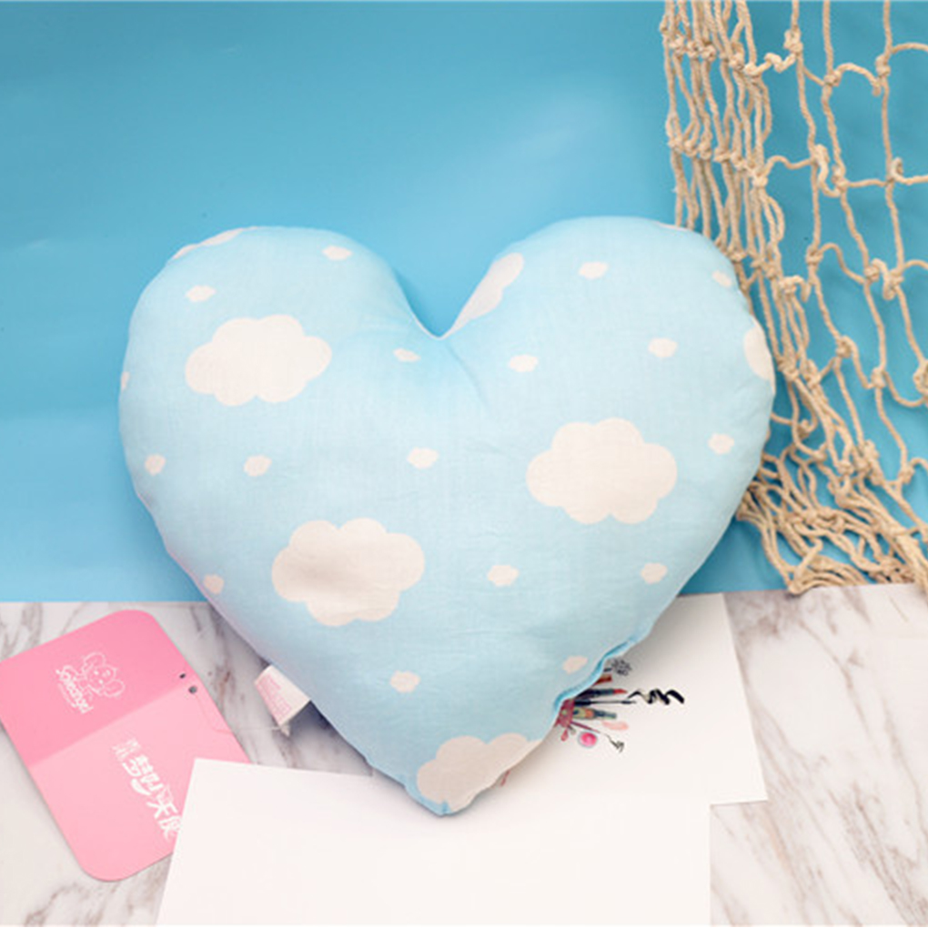 New Cute Baby Pillow Kids Baby Cushion Cotton Baby Room Decor Child Soft Travesseiro Newborn Bed Doll Gifts Baby Pillows