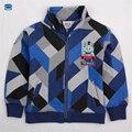 Novatx niños outwear para niños hoodies ropa de bebé baby boy desgaste chaqueta de cremallera casual para la primavera otoño boy escudo a4330